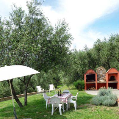 Appartement Colibrì: jardin | Maison de Vacances Costadoro à Imperia