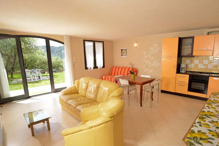 Freedom apartment: living area | Costadoro Holiday Home in Imperia