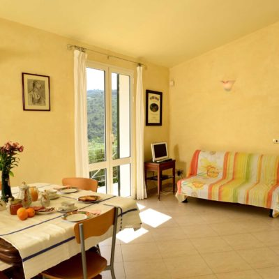Joy apartment: living area | Costadoro Holiday Home in Imperia
